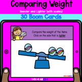 Comparing Weight: Heavier and Lighter with Scales | BOOM™ Cards
