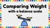 Comparing Weight with a Balance Scale - Interactive Google Slides