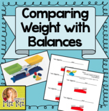 Comparing Weights Lesson Using Balances!