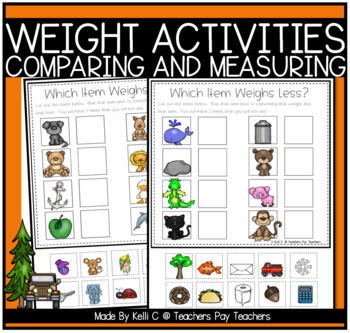 Comparing Weights- Lighter or Heavier
