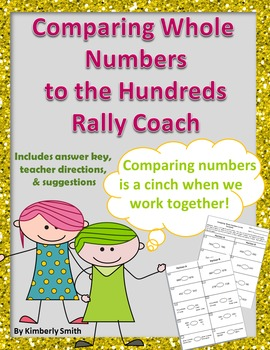 Comparing Whole Numbers to the Hundreds Rally Coach