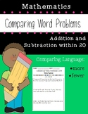 Comparing Word Problems Bundle