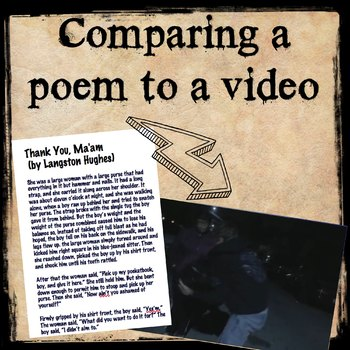 Comparing a poem to a video version