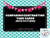 Comparing and Contrasting Activity Cards (with pictures)