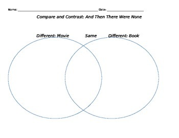 Comparing and Contrasting: And Then There Were None