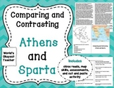 Comparing and Contrasting Athens and Sparta