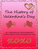 Comparing and Contrasting Author's Point of View-The History of Valentine's Day