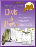 Compare and Contrast: Owls & Bats (SECOND EDITION)