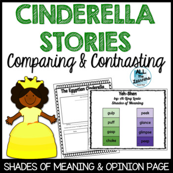 Comparing and Contrasting Cinderella Stories