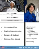 Comparing and Contrasting Dr. Sally Ride and Dr. Mae Jemison--Pioneers in Space