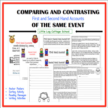 Comparing and Contrasting First and Second Hand Accounts of the Same Event