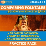 Comparing and Contrasting Folklore Practice Pack with 10 R