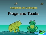 Comparing and Contrasting Frogs and Toads - PowerPoint Pre
