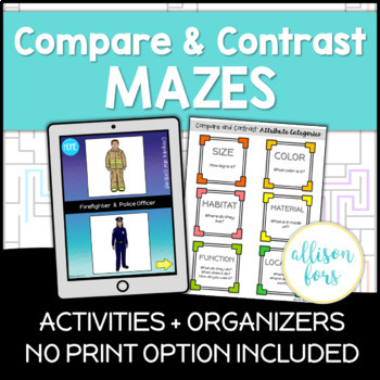 Comparing and Contrasting: Mazes & No Print