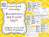 Comparing and Contrasting Mesopotamia and Ancient Egypt