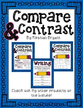 Comparing and Contrasting Mini Book Freebie