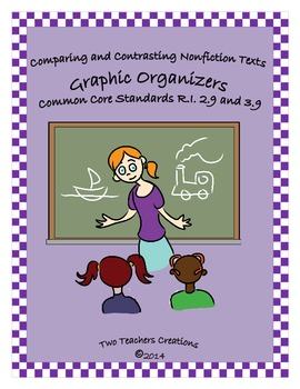 Compare and Contrast Nonfiction Texts Graphic Organizers