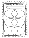 Comparing and Contrasting Organizer for 3.RL.9