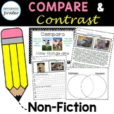Compare and Contrast Passages and Worksheets: Informational Text on Animals
