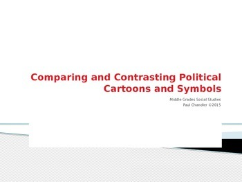 Comparing and Contrasting Political Cartoons and Symbols