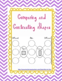 Comparing and Contrasting Shapes - Reasoning with Defining