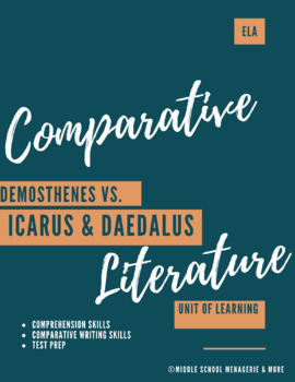Comparing and Contrasting Texts + Other Literary Skills