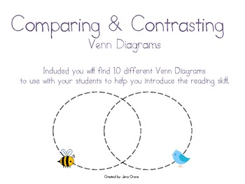 Comparing and Contrasting Venn Diagrams