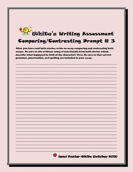Comparing and Contrasting Writing Assessment Practice Prompt-2