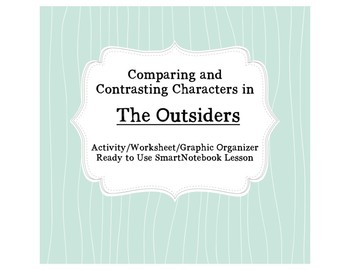 Comparing and Contrasting in The Outsiders