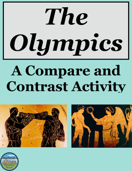 Compare and Contrast the Ancient and Modern Olympics