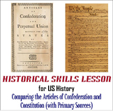 Comparing and Contrasting the Articles of Confederation and Constitution