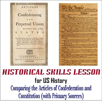 Comparing and Contrasting the Articles of Confederation an