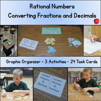 Converting Fractions and Decimals: Rational Numbers