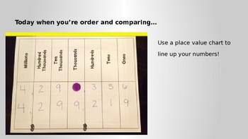 Comparing and Order Numbers to 99,999