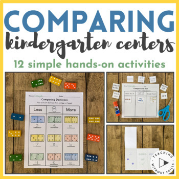 Comparing and Ordering- Compare Dominoes Math Station