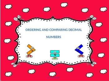Comparing and Ordering Decimal numbers