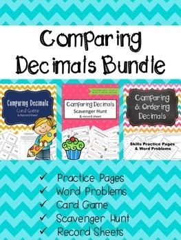 Comparing  Decimals Bundle