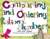 Comparing and Ordering Decimals, Fractions & Integers CCSS 6.NS.7**
