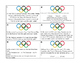 Comparing and Ordering Decimals Task Cards: Olympic Themed