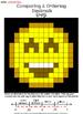 Comparing and Ordering Decimals Smiley Emoji