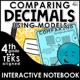 Comparing and Ordering Decimals Using Models Interactive N