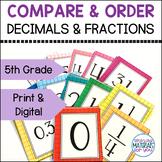 Decimals and Fractions Activities