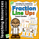 Comparing and Ordering Fractions Activities | Fraction Lin