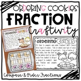 Comparing and Ordering Fractions Craftivity