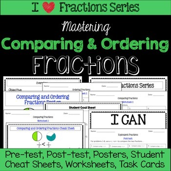 Comparing and Ordering Fractions Unit