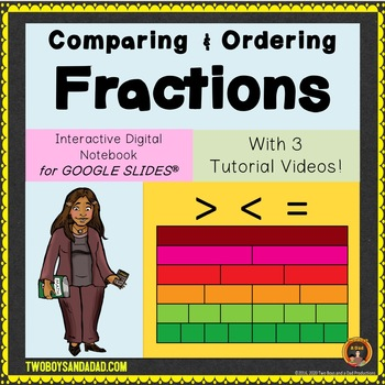 Comparing and Ordering Fractions for Google Drive®