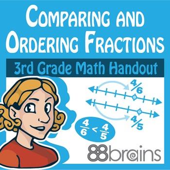 3rd grade Fractions Handouts Resources & Lesson Plans | Teachers Pay ...