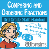 Comparing and Ordering Fractions on a Number Line pgs. 34-