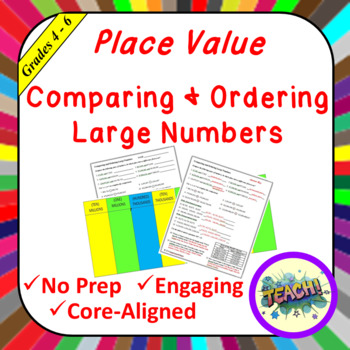 Comparing and Ordering Large Numbers