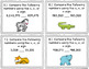 Comparing and Ordering Multi-digit Whole Numbers Task Cards {4.NBT.2}